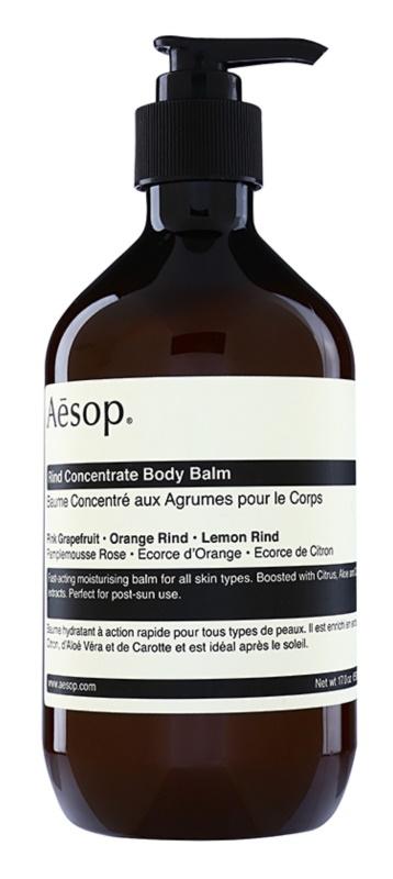 Aēsop Body Rind Concentrate baume corporel hydratant pour tous types de peau