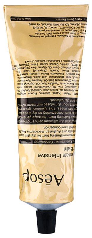 Aésop Body Rejuvenate Intensive balsam de corp hidratant pentru piele uscata