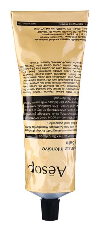 Aēsop Body Rejuvenate Intensive nawilżający balsam do ciała do skóry suchej