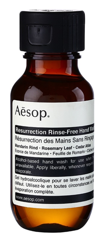 Aésop Body Resurrection gel lavant sans rinçage mains