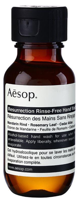 Aēsop Body Resurrection gel lavant sans rinçage mains
