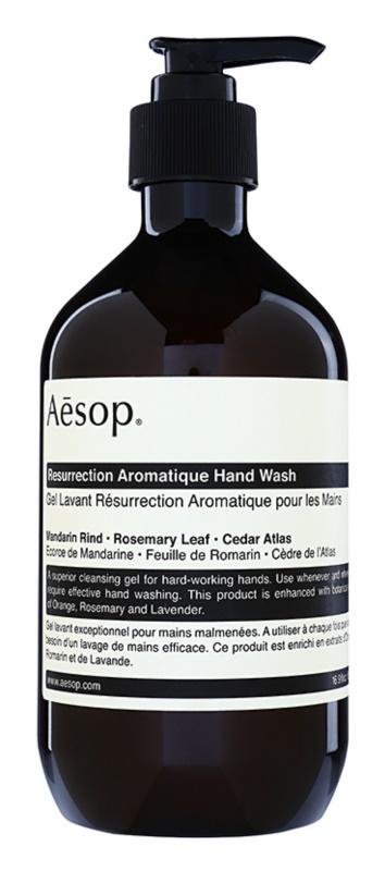 Aēsop Body Resurrection Aromatique sabonete líquido para mãos
