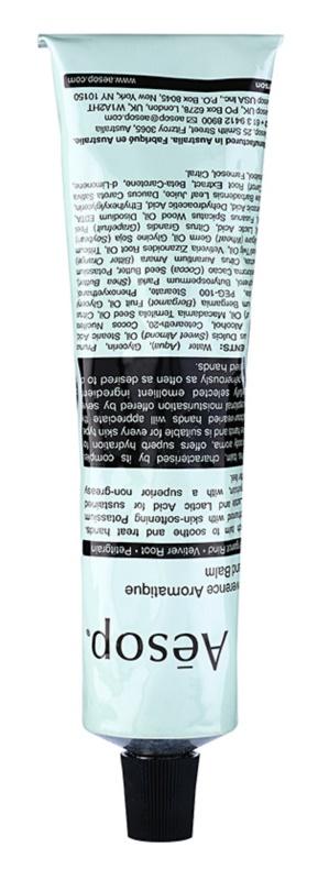 Aēsop Body Reverence Aromatique baume émollient mains