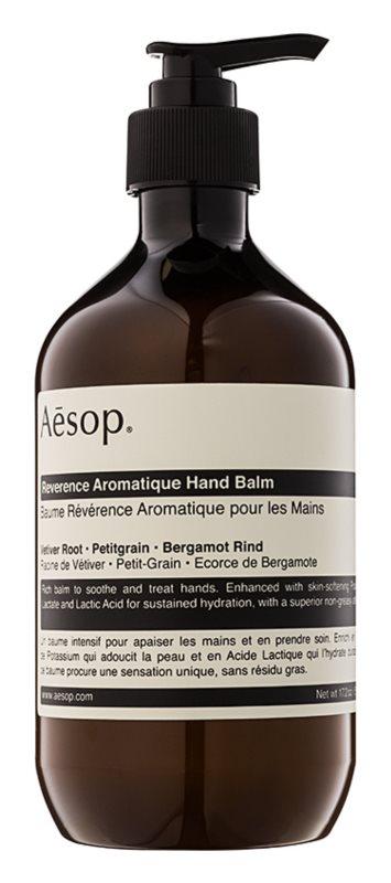 Aēsop Body Reverence Aromatique balsam hidratant de mâini