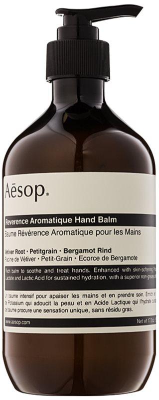 Aēsop Body Reverence Aromatique bálsamo hidratante para manos