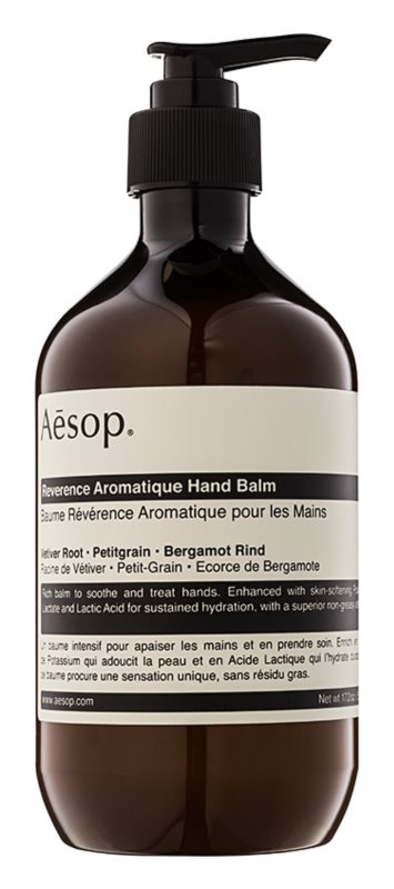 Aésop Body Reverence Aromatique Hydraterende handbalsem