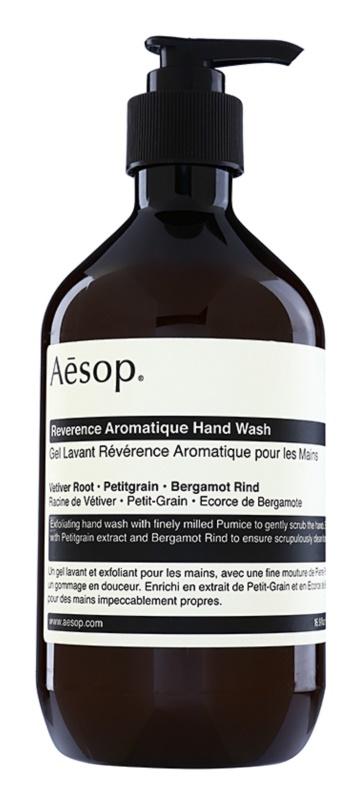 Aésop Body Reverence Aromatique bőrhámlasztó folyékony szappan kézre