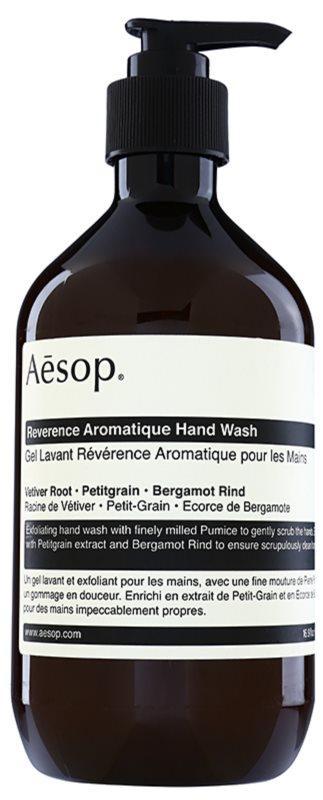 Aēsop Body Reverence Aromatique exfoliačné tekuté mydlo na ruky