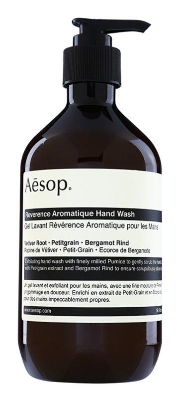 Aēsop Body Reverence Aromatique Exfoliërende Vloeibare Zeep  voor de Handen