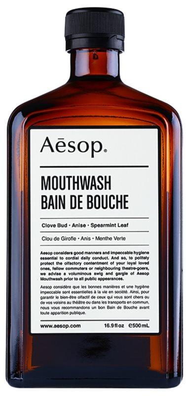 Aésop Dental odświeżający płyn do płukania jamy ustnej