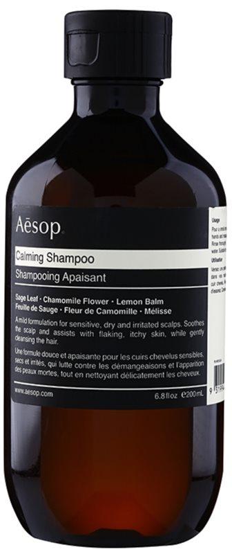 Aésop Hair Calming nyugtató sampon száraz, viszkető fejbőrre