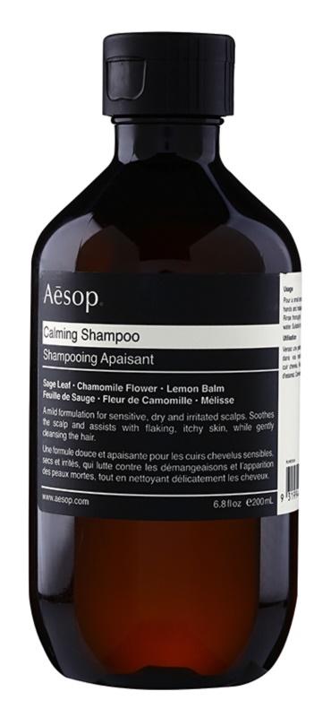 Aésop Hair Calming shampoing apaisant pour cuir chevelu sec avec démangeaisons