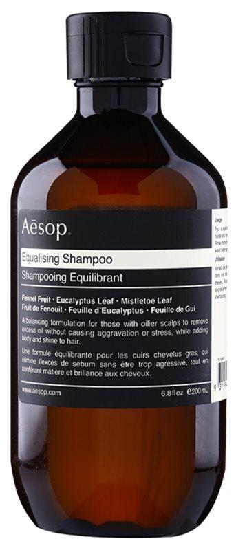 Aēsop Hair Equalising sampon a fejbőr szerkezetének megújítására
