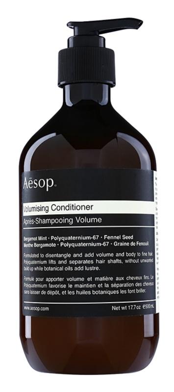 Aésop Hair Volumising condicionador de volume para cabelo fino