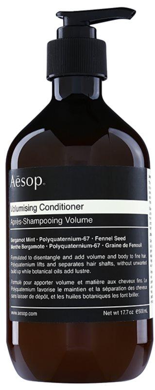 Aésop Hair Volumising objemový kondicionér pro jemné vlasy