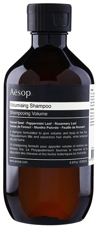 Aésop Hair Volumising shampoing volumisant pour cheveux fins