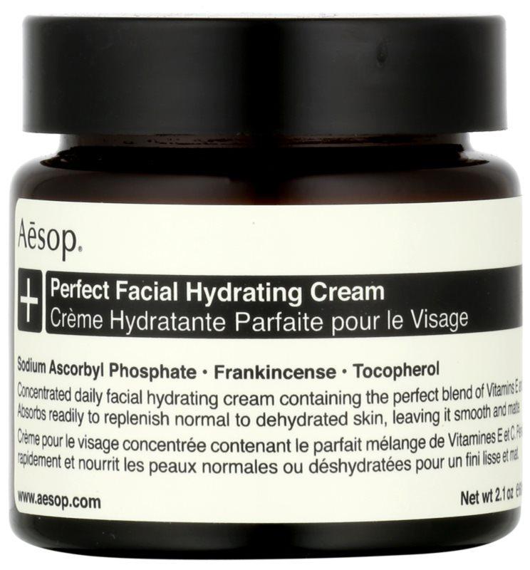 Aésop Skin Perfect crème hydratante pour peaux normales à déshydratées