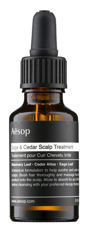 Aēsop Hair Sage & Cedar hydratační kúra na vlasy před mytím
