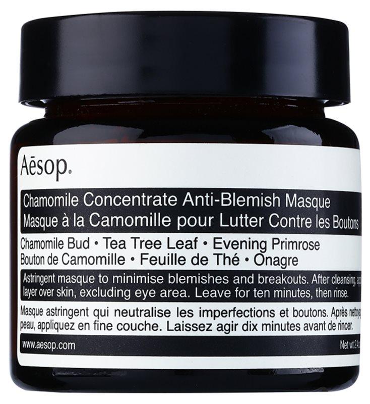 Aésop Skin Chamomile čisticí maska pro problematickou pleť