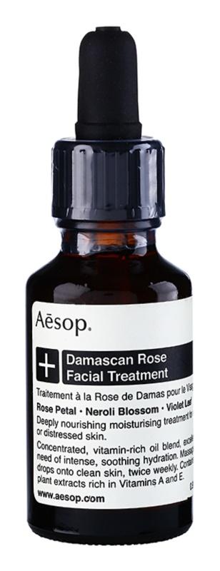 Aésop Skin Damascan Rose globinsko hranilni in vlažilni serum  za zelo suho kožo