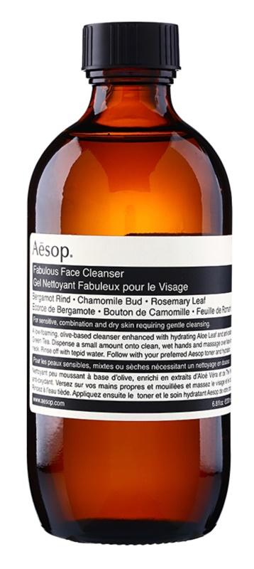 Aēsop Skin Fabulous gel nettoyant détoxifiant pour peaux sensibles et sèches