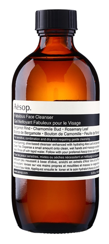 Aésop Skin Fabulous gel za čišćenje za osjetljivu i suhu kožu lica