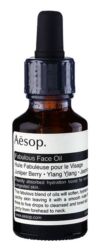 Aésop Skin Fabulous Gezichtsolie  voor Intensieve Hydratatie