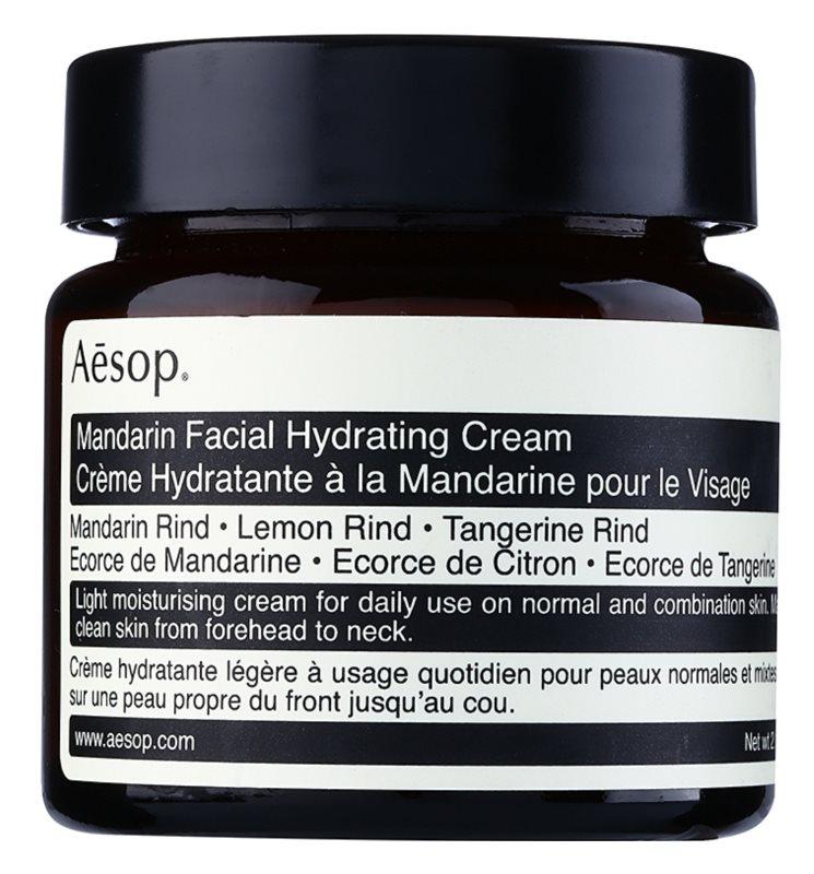 Aēsop Skin Mandarin ľahký hydratačný denný krém pre normálnu až zmiešanú pleť