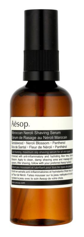 Aēsop Skin Maroccan Neroli sérum para el afeitado