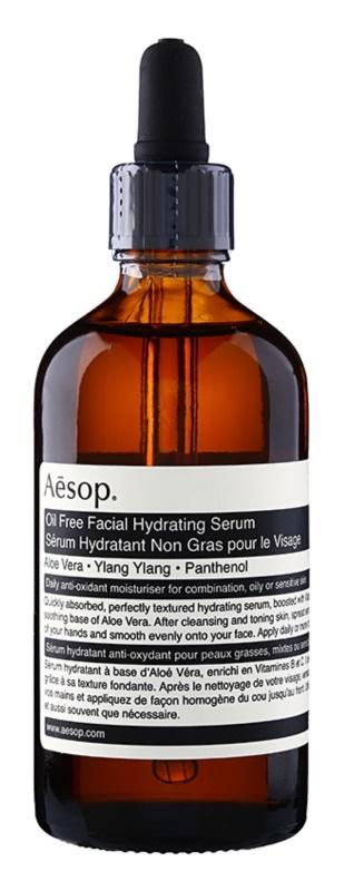 Aēsop Aésop Skin Oil Free feuchtigkeitsspendendes Hautserum für fettige und Mischhaut