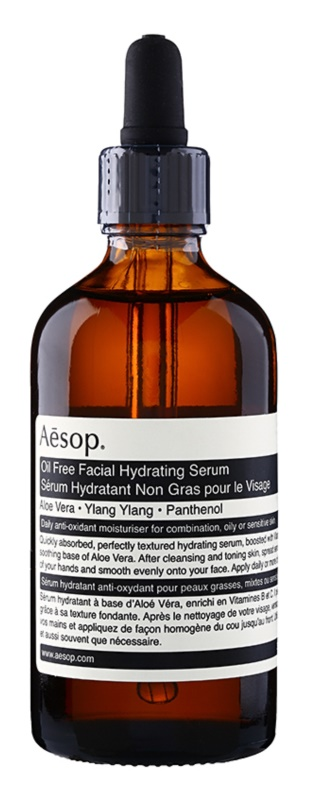 Aēsop Skin Oil Free hydratačné pleťové sérum pre mastnú a zmiešanú pleť