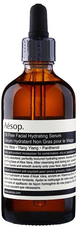 Aēsop Skin Oil Free nawilżające serum do twarzy do skóry tłustej i mieszanej
