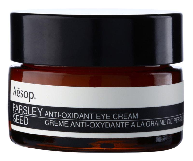 Aésop Skin Parsley Seed crema antioxidante para contorno de ojos