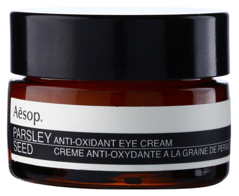 Aēsop Skin Parsley Seed crème antioxydante yeux
