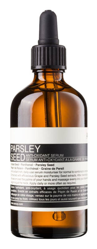 Aésop Skin Parsley Seed sérum antioxydant