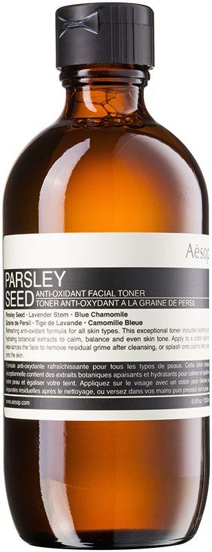Aésop Skin Parsley Seed antioxidačné tonikum pre všetky typy pleti