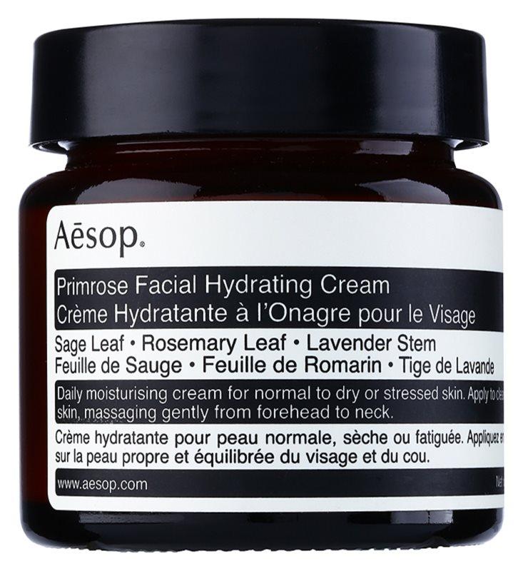 Aésop Skin Primrose crema hidratanta pentru ten normal spre uscat
