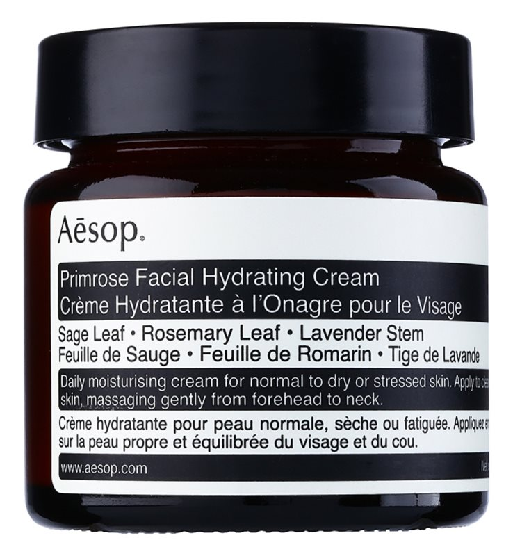 Aésop Skin Primrose creme hidratante para pele normal a seca