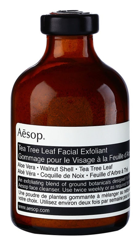 Aésop Skin Tea Tree Leaf  exfoliant pulbere