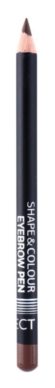 Affect Shape & Colour олівець для брів  зі щіточкою