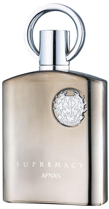 Afnan Supremacy Silver Eau de Parfum para homens 100 ml