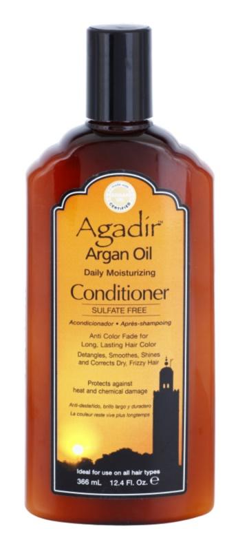 Agadir Daily Moisturzing хидратиращ балсам за суха и боядисана коса