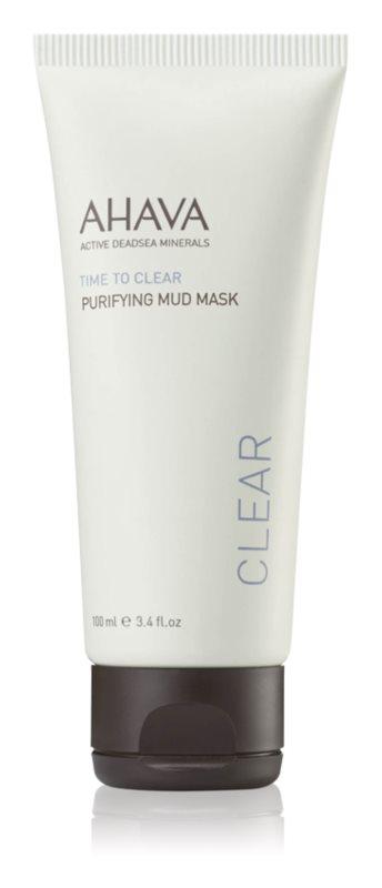 Ahava Time To Clear čisticí bahenní maska