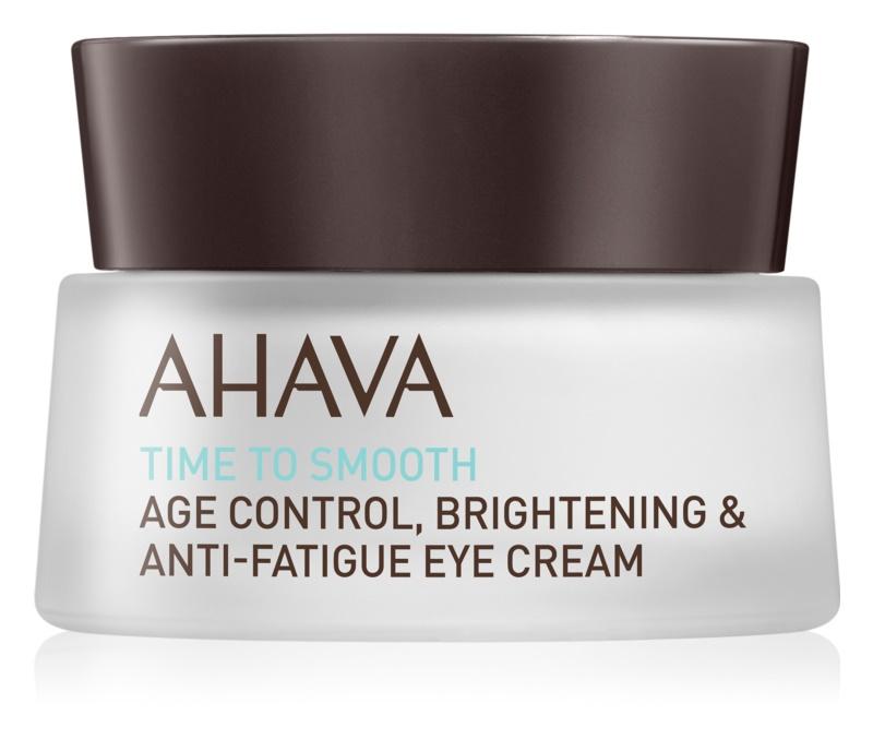 Ahava Time To Smooth hydratační oční krém s vyhlazujícím efektem