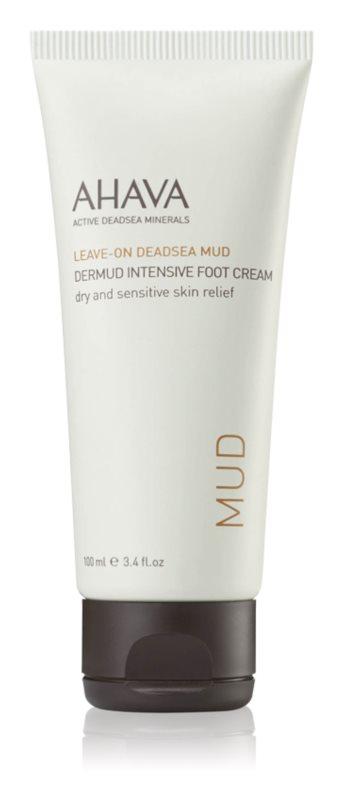 Ahava Dead Sea Mud intenzívny krém na nohy pre suchú a citlivú pokožku