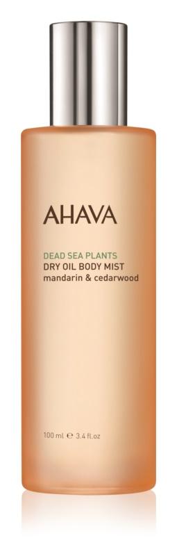 Ahava Dead Sea Plants Mandarin & Cedarwood suho olje za telo v pršilu