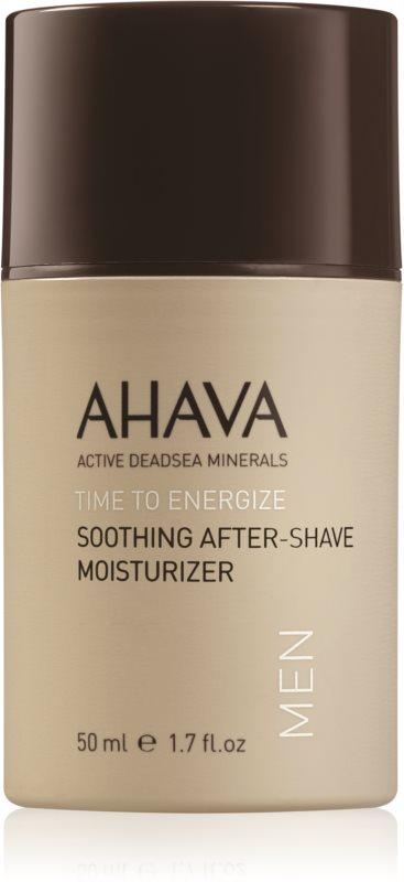 Ahava Time To Energize Men upokojujúci a hydratačný krém po holení