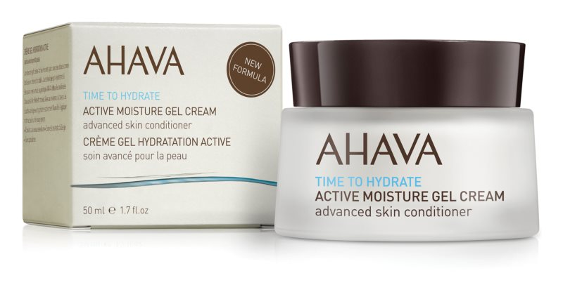 Ahava Time To Hydrate Aktive intensive Feuchtigkeitsgel-Creme