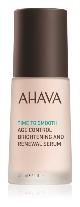 Ahava Time To Smooth posvjetljujući serum za obnovu