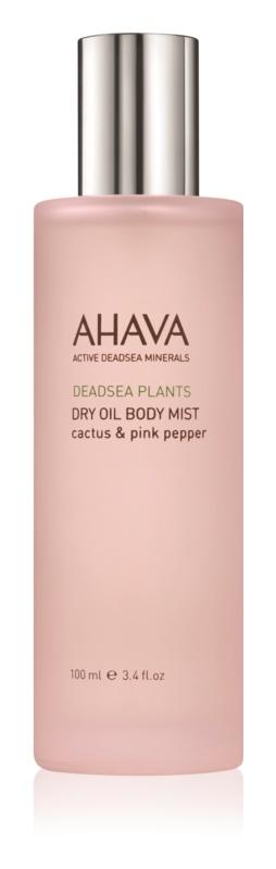 Ahava Dead Sea Plants Cactus & Pink Pepper suchý telový olej v spreji
